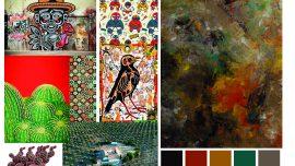 Peinture mexicaine contemporaine est une vraie source d'inspiration
