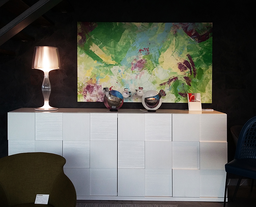 Tableau Paradis Sauvage chez Ligne et Design Lutterbach