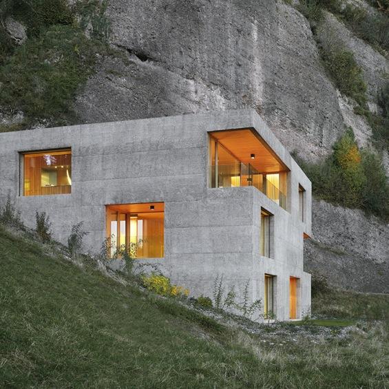 Etonnantes architectures min rales isabelle delanoue for Architecture originale maison